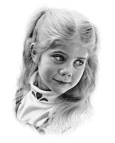 Incredible pencil portraits - Drawings by Darrel Tank - Hillary