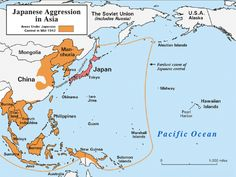 World War II Pacific   Japanese Aggression In Asia