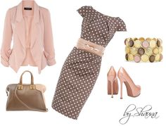"""Pinka Dots"" by shauna-rogers on Polyvore"