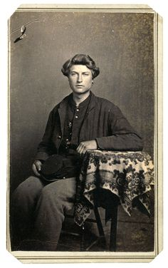 Carte de visite by T. Schleier of Nashville, Tenn. This image may not be reproduced by any means without permission. Antique Photos, Vintage Photos, American Civil War, American History, Old Portraits, Civil War Photos, History Photos, Historical Photos, Nashville
