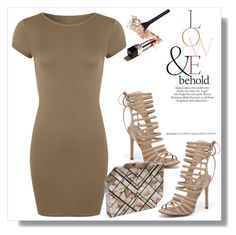 """Tan"" by christinacastro830 ❤ liked on Polyvore featuring WearAll, Siren, ASOS and Nathalie Trad"