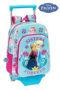 Τσάντα τρόλλευ νηπίου Frozen Sisters 26 11 34cm c63e0cc461f