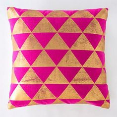 Zollie Pillow, Pink | Lulu and Georgia
