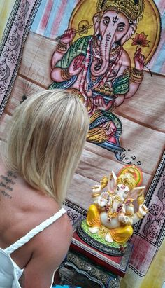Colcha Ganesha  www.produtosindianos.com.br