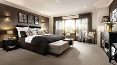 Master Suite as displayed at Williams Landing Estate , Williams Landing