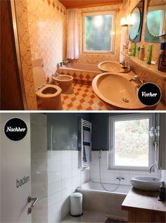 vintage vorher nachher bildchen wohnen badezimmer fliesen streichen und fliesen. Black Bedroom Furniture Sets. Home Design Ideas