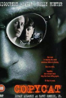 Copycat (1995) - IMDb  An agoraphobic psychologist and a female detective must work together to take down a serial killer who copies serial killers from the past.