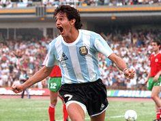 Jorge Burruchaga.Campeón Mundial en FIFA World Cup México 1986. Campeón con Independiente de Avellaneda en Campeonato de Primera División 1983,Copa Libertadores de América 1984,Copa Intercontinental 1984,Recopa Sudamericana 1995 y Supercopa Sudamericana 1995.