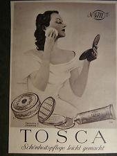 4711 Tosca Puder Werbung um 1950/60 Jahre-Werbeblatt ca.1950/60 Jahren-Nr.26