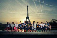 Les 10 équipes fièrement représentées dans notre beau quartier  #boostbirhakeim