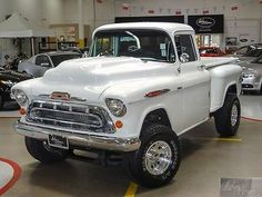 1957 Chevy 4x4 Pick-Up Truck ( On Modern Frame And Drive Train )