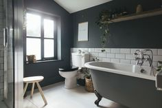 A small dark bathroom that's cosy rather than creepy (from Rock My Style)