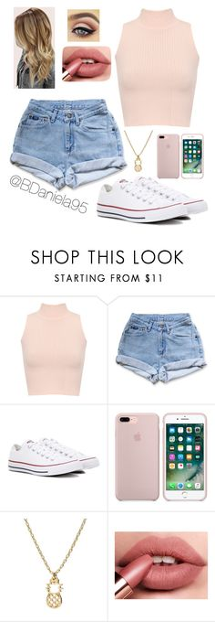 """""""Untitled #271"""" by daniela95140 ❤ liked on Polyvore featuring WearAll, Levi's and Converse"""