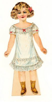 (⑅ ॣ•͈ᴗ•͈ ॣ)♡                                                             ✄The Paper Collector: Daisy and Her Dresses