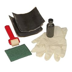 EasyPro Pond Products LPK EPDM Rubber Liner Repair Kit 2 Quick Seam Patches x Smooth inside for maximum flow, ribbed outside for increased strength 1 Scrubbing Pad 1 Bottle of Surface Primer EasyPro EPDM Liner repair kit Koi Pond Liner, Epdm Pond Liner, Pond Maintenance, Garden Line, Leak Repair, Pond Water Features, Disposable Gloves, Ponds Backyard, Kit