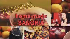 THIS RECIPE IS ONLY FOR PEOPLE - WHO ARE OLD ENOUGH TO DRINK ALCOHOL! Home made sangria is a great drink for those hot summer days and especially if you have friends over or a party :) Hope you like it and SALUD!