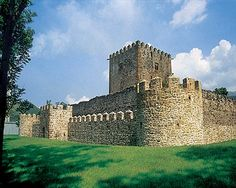 Castillo de Muñatones Muskiz Bizkaia España.