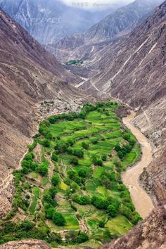 How green is your valley - Tibet