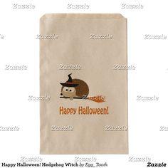 Happy Halloween! Hedgehog Witch