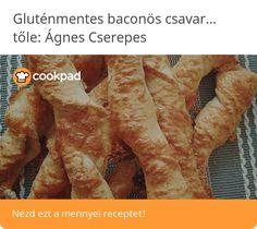 Gluténmentes baconös csavart barna rizslisztből Meat, Food, Essen, Meals, Yemek, Eten