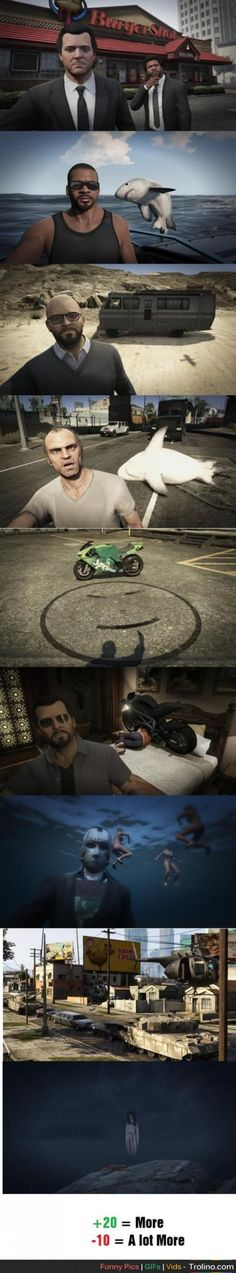 10 GTA V Selfies That Show How Fun The Game Can Be