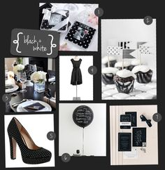 With a mix of polka dots and stripes, this party theme is perfect for both an upscale affair or a more laid back get together.