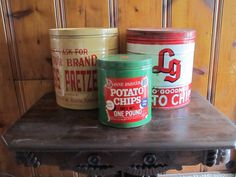 Rick Hayes, Auctioneer | There are just too many cool old things to look at in our upcoming auction at Foley's Antiques in Richmond, Kentucky! #oldstuff #potatochip #antiques #vintage #ricksellsky #myrichmond
