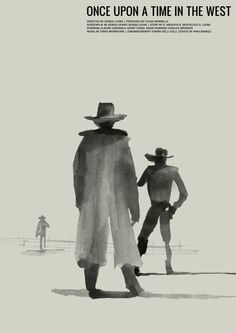 Minimalist Movie Poster: Once Upon a Time in the West