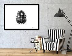 Discover «FiberTrooper 001», Numbered Edition Fine Art Print by Manuel Jimenez…