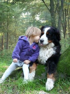 """""""A dog is adorable and noble. A dog is a true and loving friend."""" ― Mary Oliver, Dog Songs [pinned by PartyTalent.com] #BerneseMountainDog"""