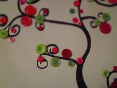 """""""I am the vine, ye are the branches...""""  John 15 something.    Also, a neat craft: draw the tree and make it three d with buttons!"""