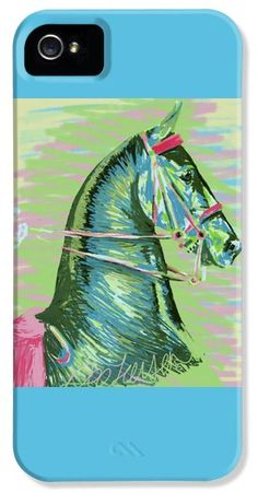 American Saddlebred Horse Digital Painting iPhone 5 / 5S Case