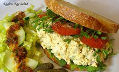 """This tasty sandwich filling remarkably resembles real egg salad in appearance taste and texture, but without the cholesterol (or animal cruelty). A blender is required for preparing the """"egg whites"""" and a food processor is recommended for the """"yolk"""" mixture. You will also need 1 block (about 14 oz before pressing) extra-firm water-packed tofu (not …"""