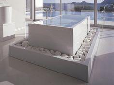 White Bathtub Accessories creative modern design from Duravit Dream Bathrooms, Beautiful Bathrooms, Fancy Bathrooms, Modern Bathrooms, Bathroom Lighting Design, Bathroom Designs, Shower Designs, Duravit, Philippe Starck