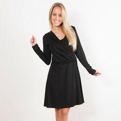 Vestido de invierno Danubio Negro
