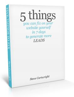 you reed book: 5 THINGS EVERY SMALL BUSINESS CAN FIX ON THEIR WEB...