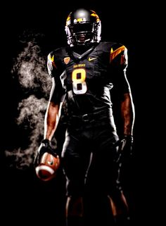 New Arizona State Football Uniform--Black Alternate