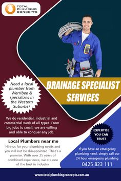 Drainage Specialist Services