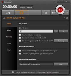 Bandicam Full İndir Türkçe Özellikle oyun içinden, oyun oynarken ekran videosu almak için kullanılır, directx destekli olduğundan oyunları oynarken rahatlıkla ekran videosu çekebilirsiniz, aynı zaman bandicam ile eğitim videosu tarzında kayıtlar da yapabilirsiniz, kullanışlı ve anlaşır bir arayü... http://www.full-program-indir.com/bandicam-turkce-full-indir.html