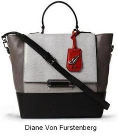 Colour block bag by Diane Von Furstenberg