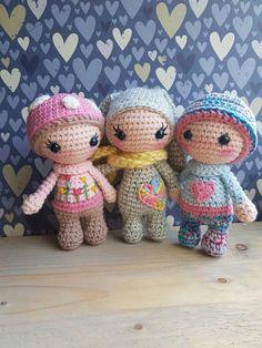 Tiny Lalylala's. Handmade by @linnepin.