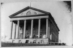 The Virginia State Capitol during the Civil War with historian Mark Greenough on this episode of History Replays Today, The Richmond History Podcast
