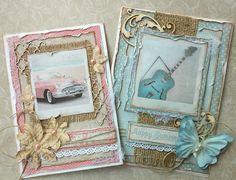 Making Retro Style Cards with Maja Design's Summer Crush!