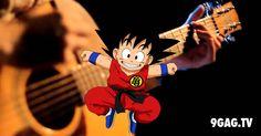 """Dragon Ball Z"" Theme By Acoustic Guitar | 9gag.tv"