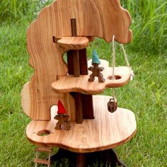 Wooden tree house toy. So lovely. #toy #wood