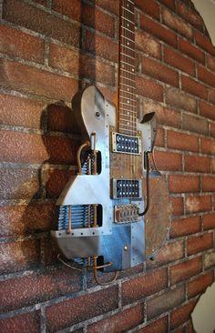 3D printed guitar | Guitars I\'d Love To Own | Pinterest | Un, New ...
