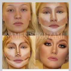 Contour Makeup - Contouring and highlighting is the perfect way to make your favorite features stand out – and it's easier than you think. Description from pinterest.com. I searched for this on bing.com/images