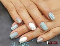 Trendy Nails with Beautiful Designs 2017
