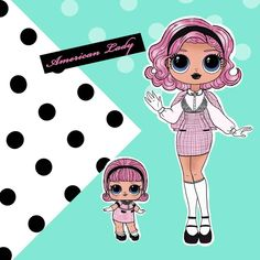 New Dolls, Barbie Dolls, Top Toys For Girls, Doll Drawing, Wonderland Costumes, Cute Kawaii Drawings, Barbie Fashionista, Baby Alive, Scrapbook Stickers
