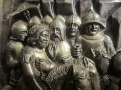 14thC Silver Altar of St Jacopo, Pistoia, Italy